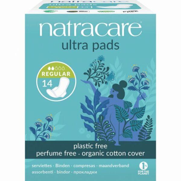 Absorbante regular naturale bumbac organic 14 buc Natracare