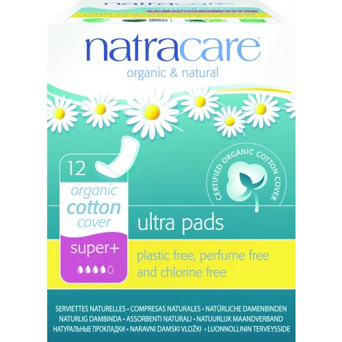 Absorbante super plus naturale bumbac organic 12 buc Natracare