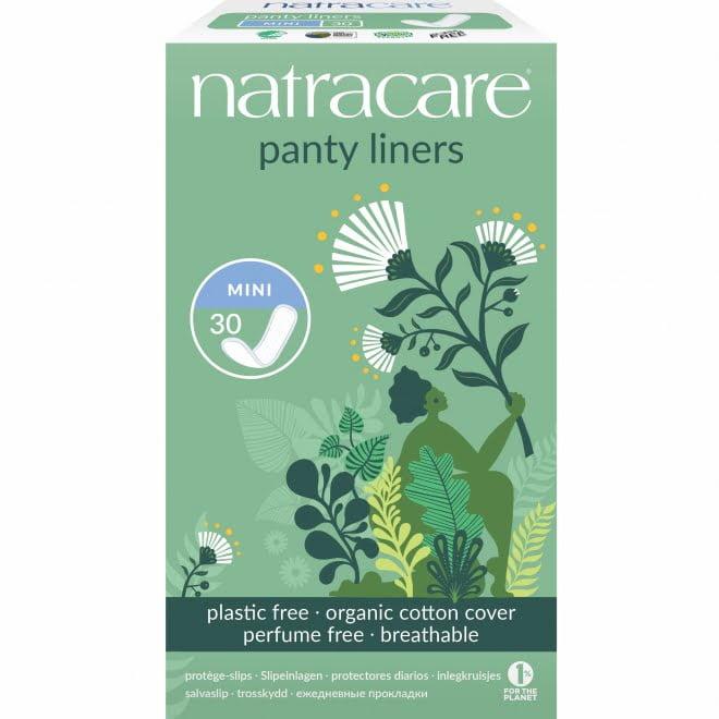Protej slip breathable - mini natural bumbac organic 30 buc Natracare