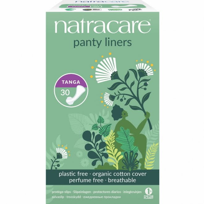 Protej slip tanga natural bumbac organic 30 buc Natracare
