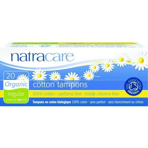 Tampoane regular naturale bumbac organic 20 buc Natracare