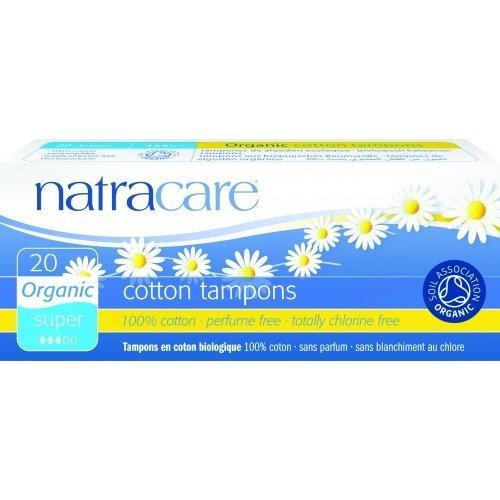 Tampoane super naturale bumbac organic 20 buc Natracare