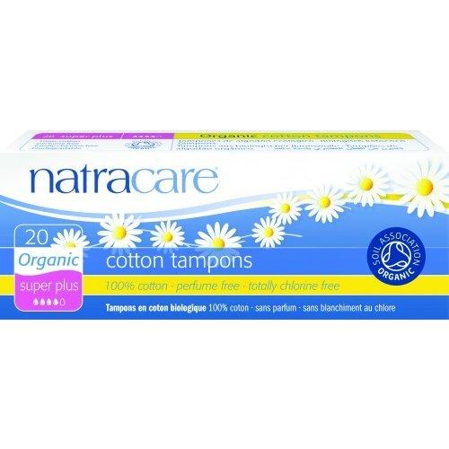 Tampoane super plus naturale bumbac organic 20 buc Natracare