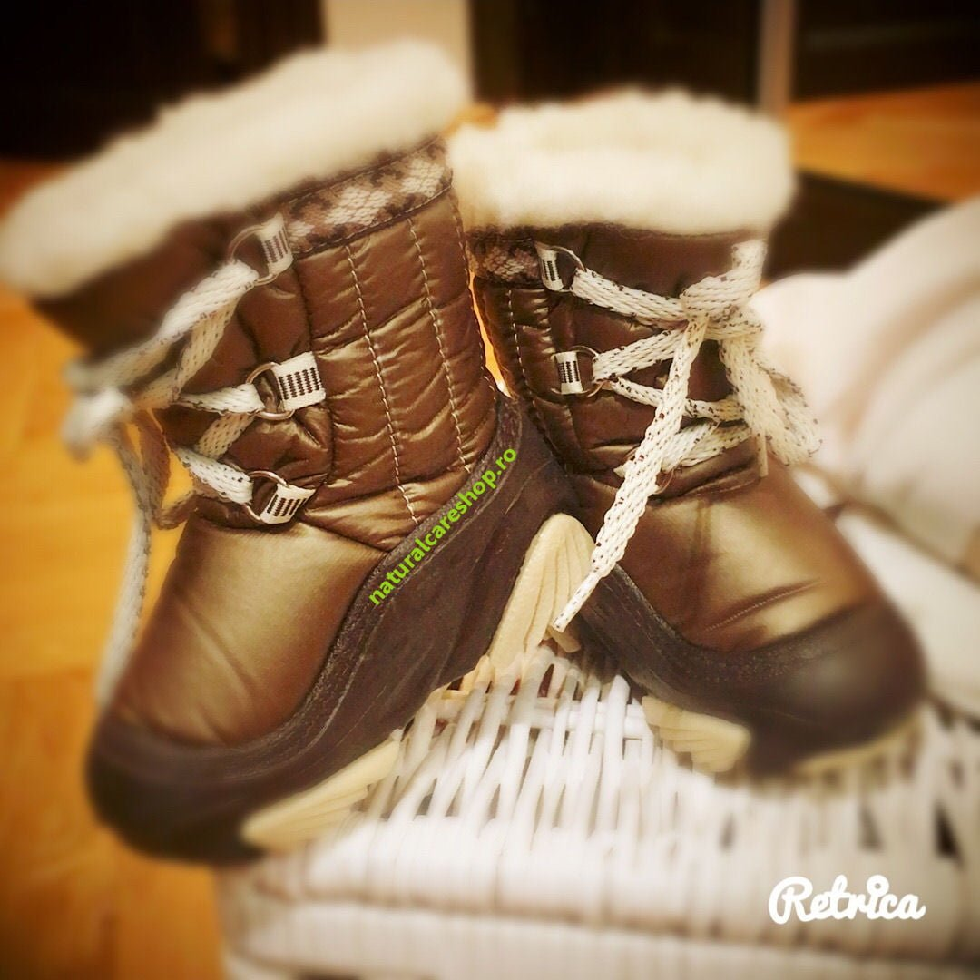 Cizme de iarna lana naturala Joy