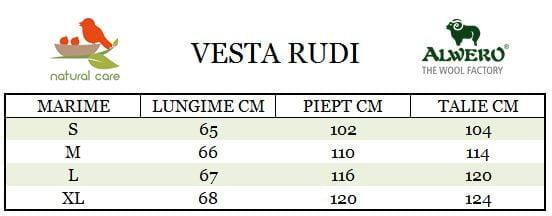 Ghid Marimi Vesta Rudi Alwero