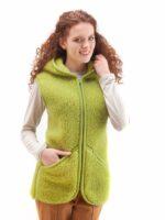 Vesta adulti lana verde crud Everest Alwero