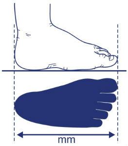 Cum masor piciorul unui bebelus copil