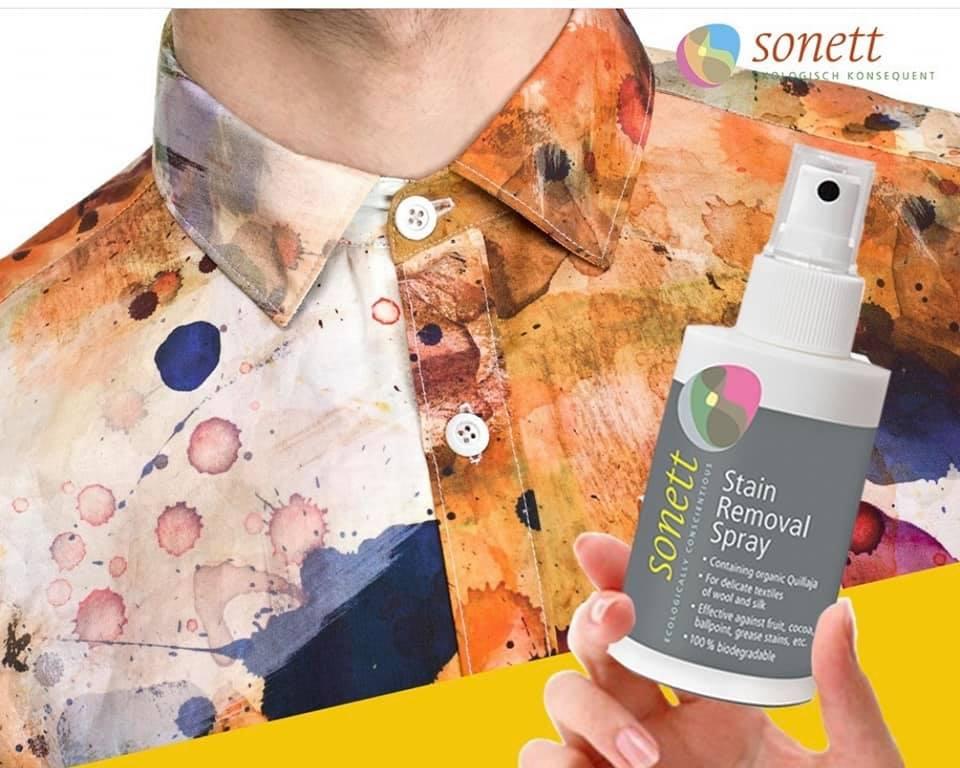 Spray ecologic pentru scos pete 100ml Sonett 3