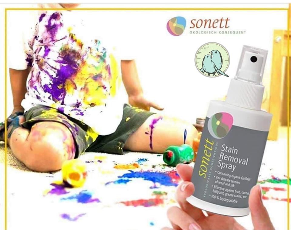 Spray ecologic pentru scos pete 100ml Sonett 4