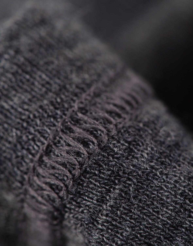 Pantaloni colanţi gri închis din lână merinos organică pentru bebeluşi Dilling 1