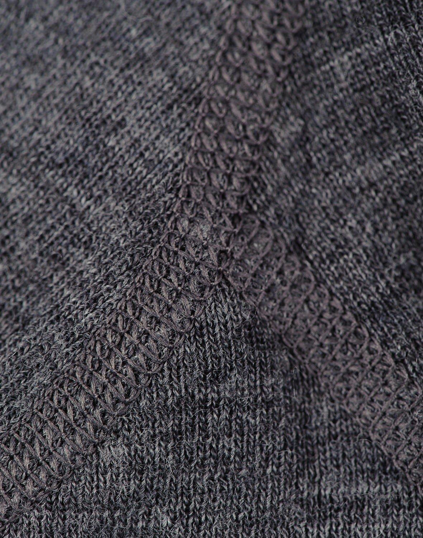 Pantaloni colanţi gri închis din lână merinos organică pentru bebeluşi Dilling 3