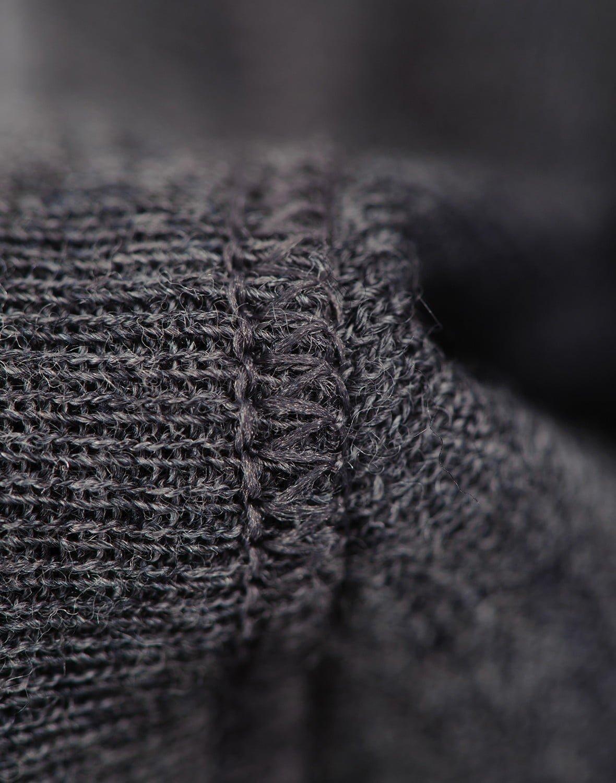 Salopetă – pijama overall gri închis din lână merinos organică pentru bebeluși Dilling 1