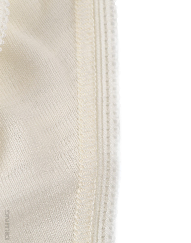 Chiloti midi natur din lana merinos organica pentru femei Dilling 6