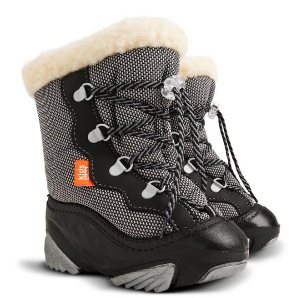 Cizme de iarna cu interior lana naturala Snow Fun
