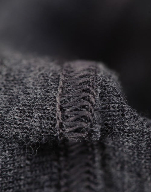 Chiloti gri inchis din lana merinos organica pentru bebelusi Dilling 2