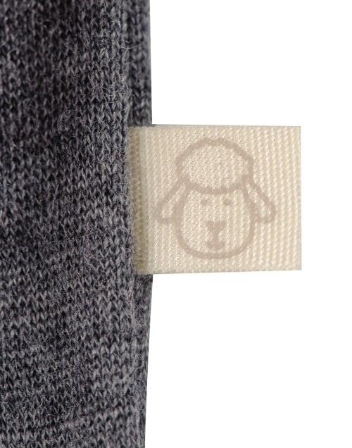 Chiloti gri inchis din lana merinos organica pentru bebelusi Dilling 4