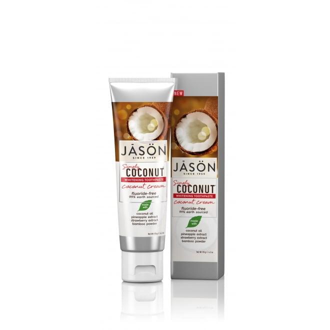 Pastă de dinți cu cocos pentru albirea dinţilor 119gr Jason