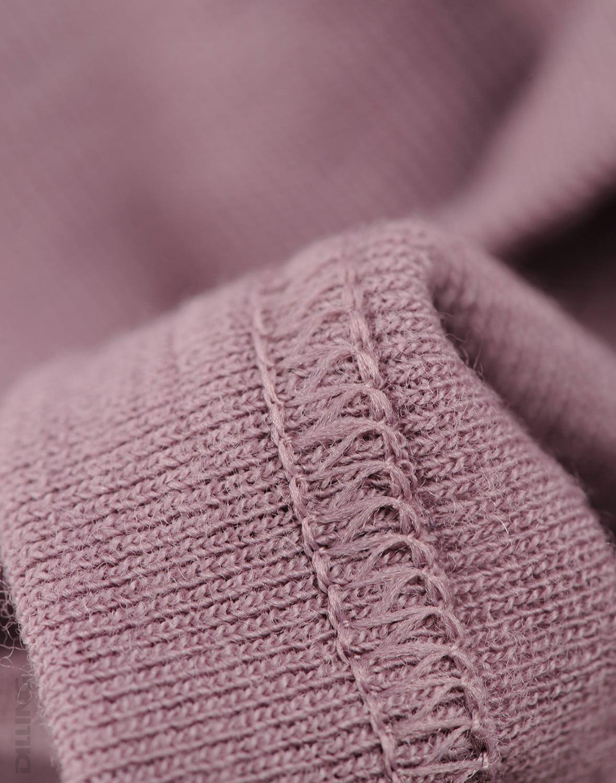 Maiou bordeaux din lana merinos organica pentru copii Dilling 2