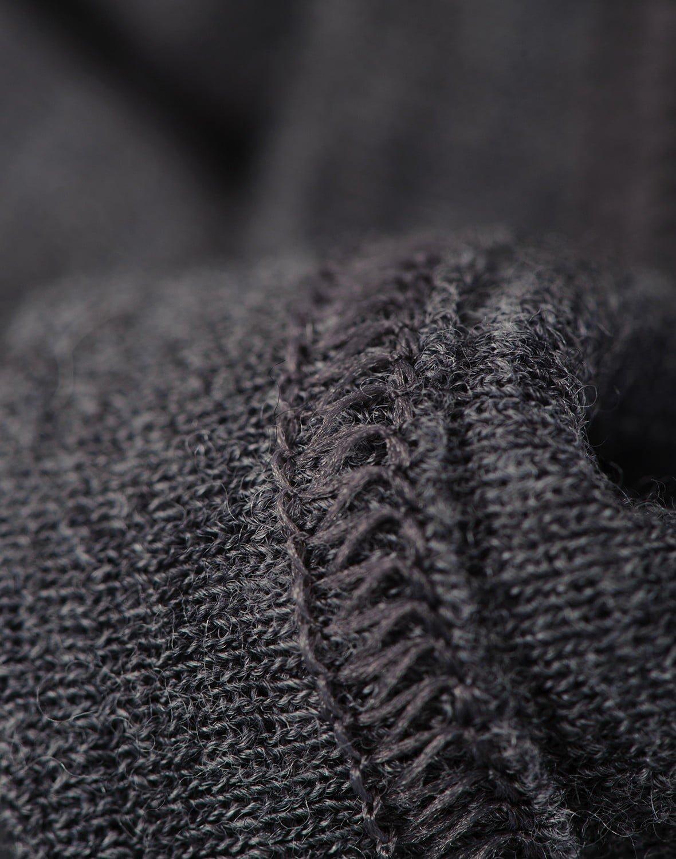 Maiou gri inchis din lana merinos organica pentru copii Dilling 2