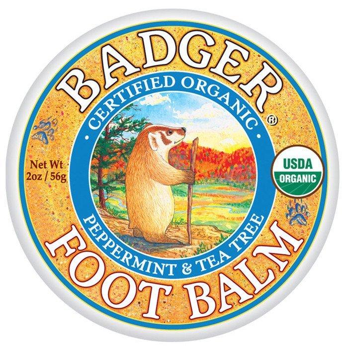 Mini balsam pentru picioare obosite şi călcâie crăpate 21g Foot Balm Badger