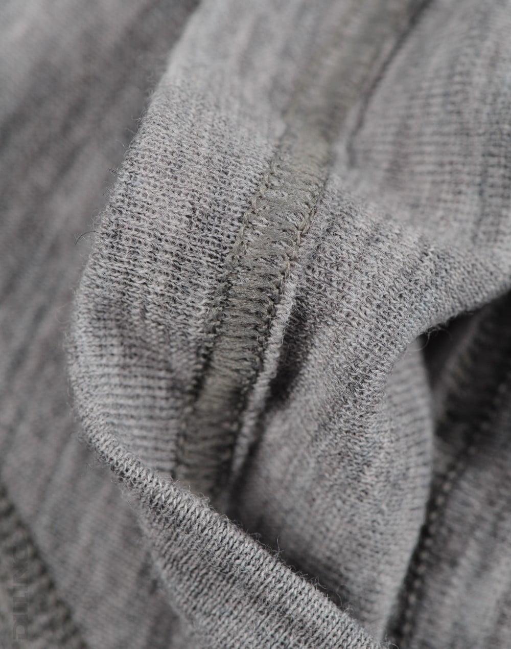 Boxeri gri din lana merinos organica pentru barbati Dilling 2