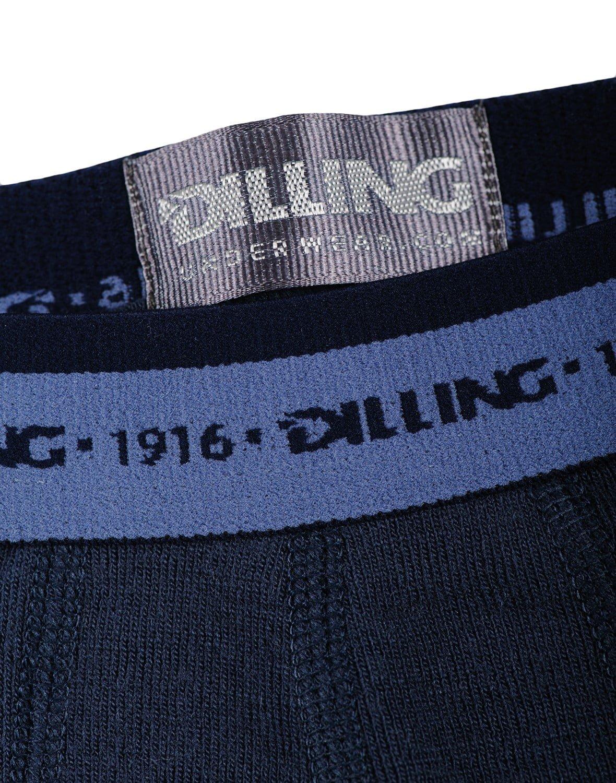 Boxeri navy din lana merinos organica pentru baieti Dilling 3