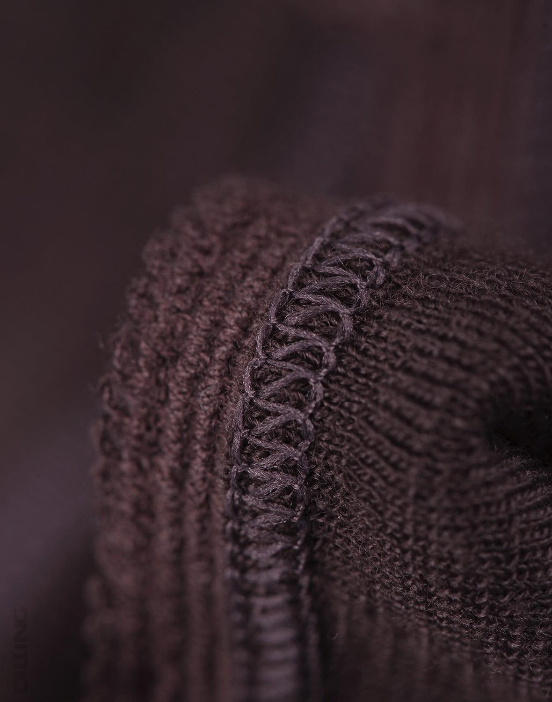 Chiloti midi bordeaux din lana merinos organica pentru femei Dilling 4