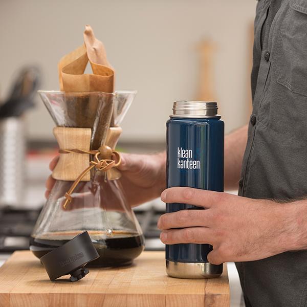 Cana termoizolanta cu capac de cafea 592 ml Klean Kanteen