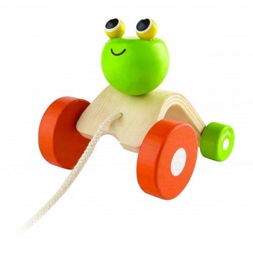 Broscuta saltareata Plan Toys