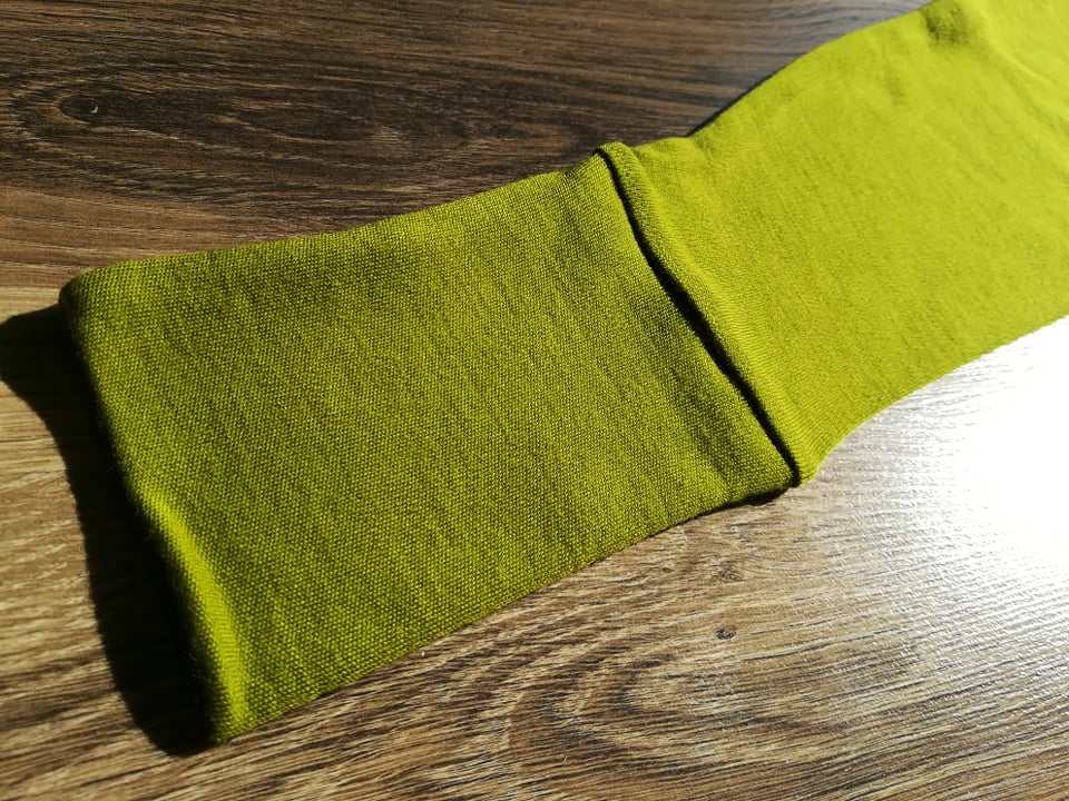 Colanti green moss din lana merinos organica pentru femei Green Rose