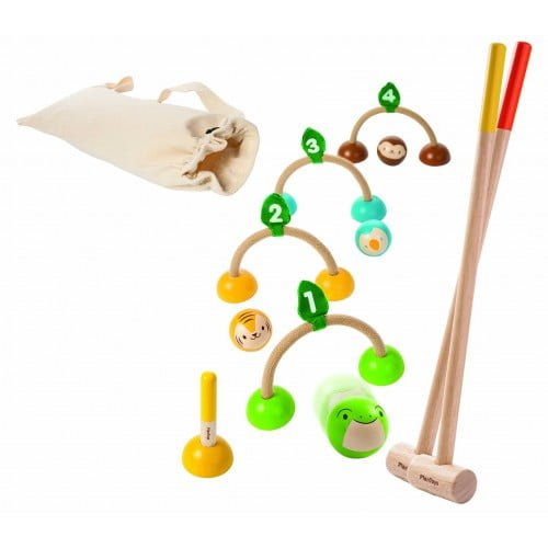 Crocket - joc pentru interior si exterior Plan Toys