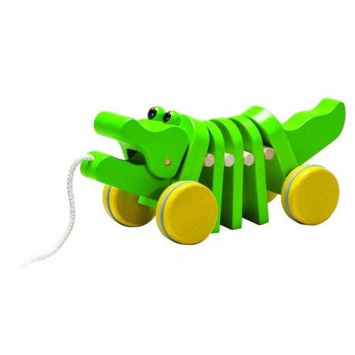 Crocodilul care danseaza Plan Toys