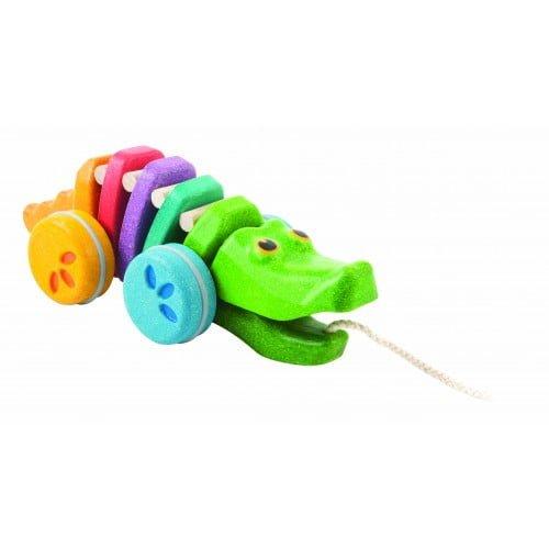 Crocodilul curcubeu Plan Toys