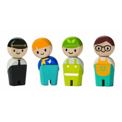 Figurine din lemn