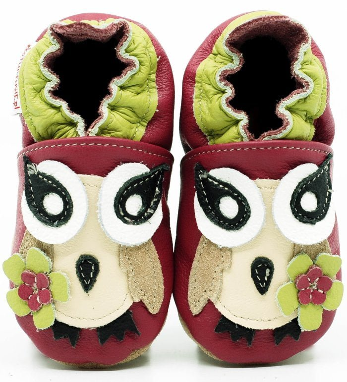 Pantofi cu talpa moale Fiorino EkoTuptusie Faster - Elegant Owl