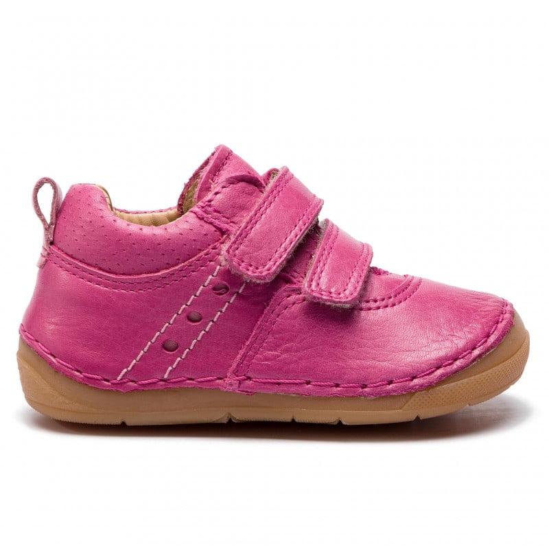 Pantofi din piele cu talpă extra flexibilă Froddo Fuchsia 1