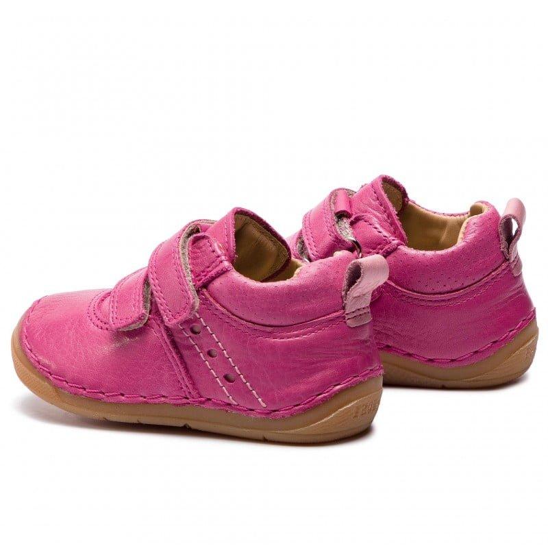 Pantofi din piele cu talpă extra flexibilă Froddo Fuchsia 2