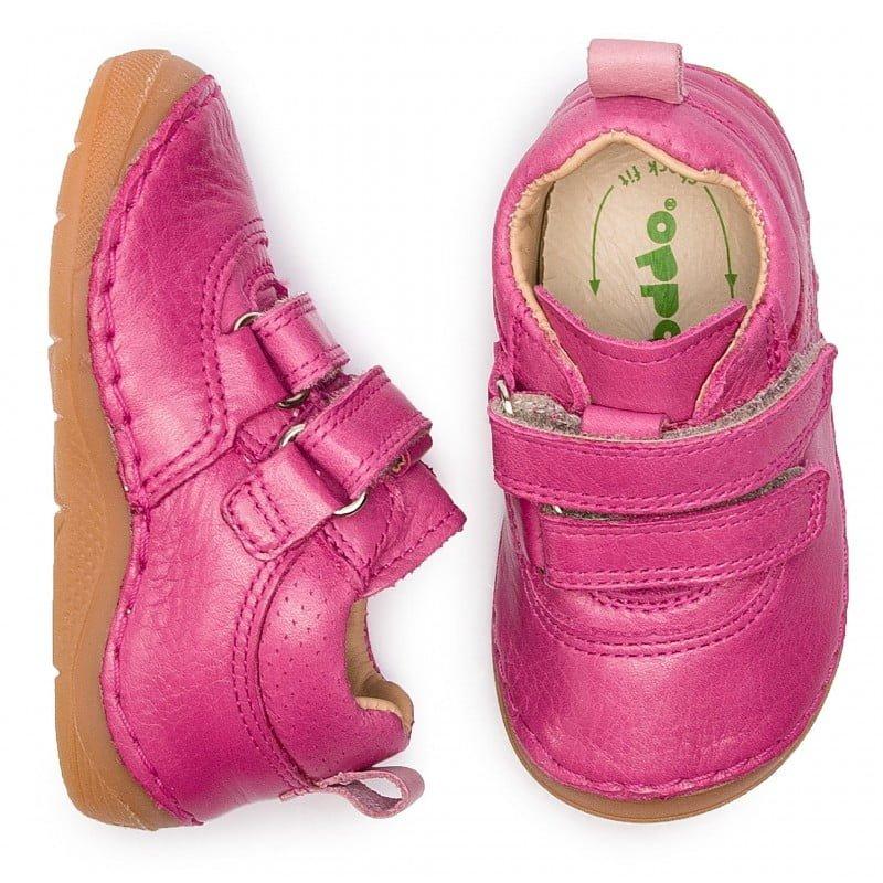 Pantofi din piele cu talpă extra flexibilă Froddo Fuchsia 4