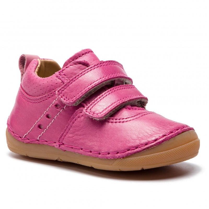 Pantofi din piele cu talpă extra flexibilă Froddo Fuchsia