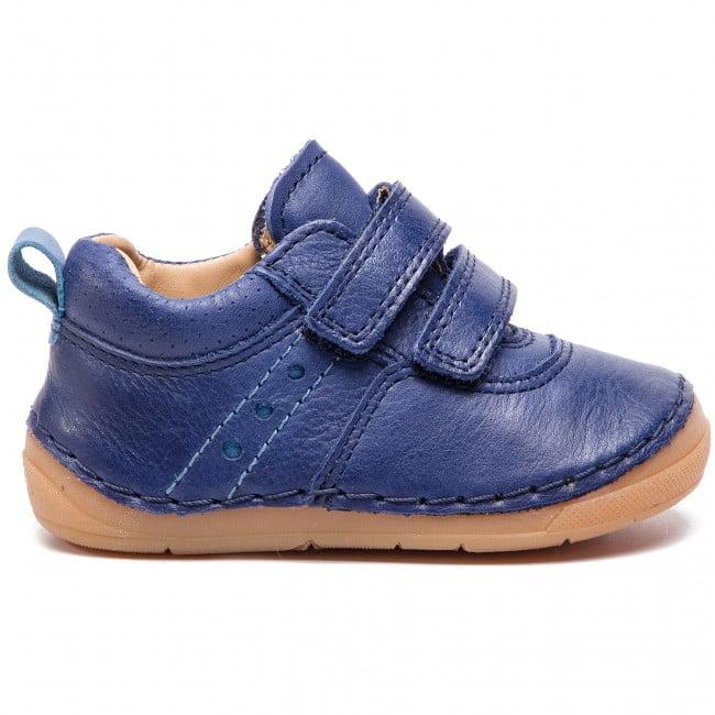 Pantofi din piele cu talpa extra flexibila blue Froddo