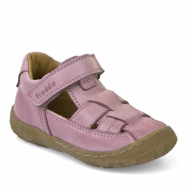 Sandale din piele cu talpa extra flexibila pink Froddo