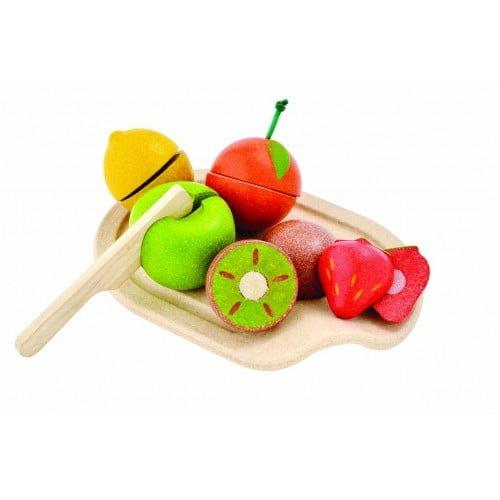 Set cu fructe asortate Plan Toys