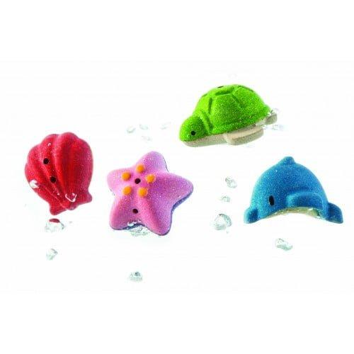 Set de baita cu animale marine Plan Toys
