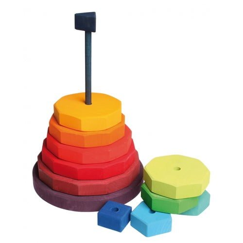 Turn gigant de stivuit cu forme geometrice Grimm's