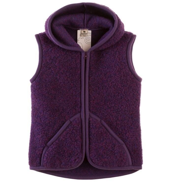 Vesta adulti lana merinos violet Everest Alwero