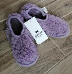 Papuci de casa lana cu talpa aniderapanta lilly Ballerinas Alwero