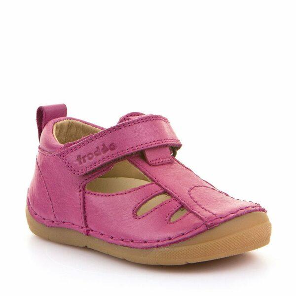 Sandale din Piele Froddo cu Talpă Extra Flexibilă Fuchsia
