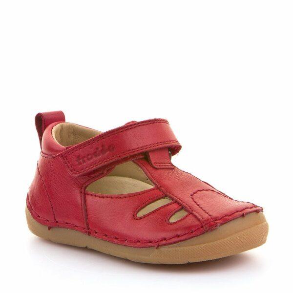 Sandale din Piele Froddo cu Talpă Extra Flexibilă Red