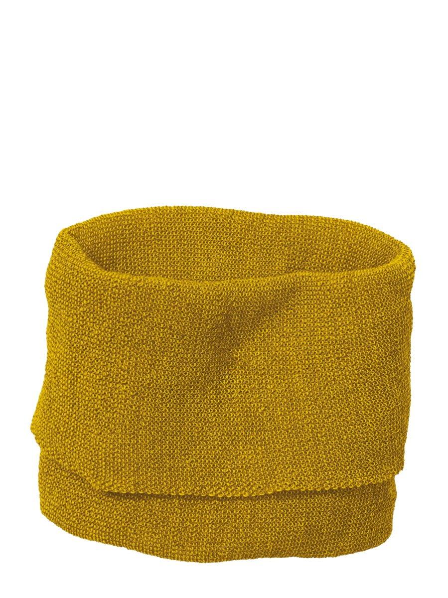 Buff fular circular Disana din lână merinos pentru adulți Curry/ Gold