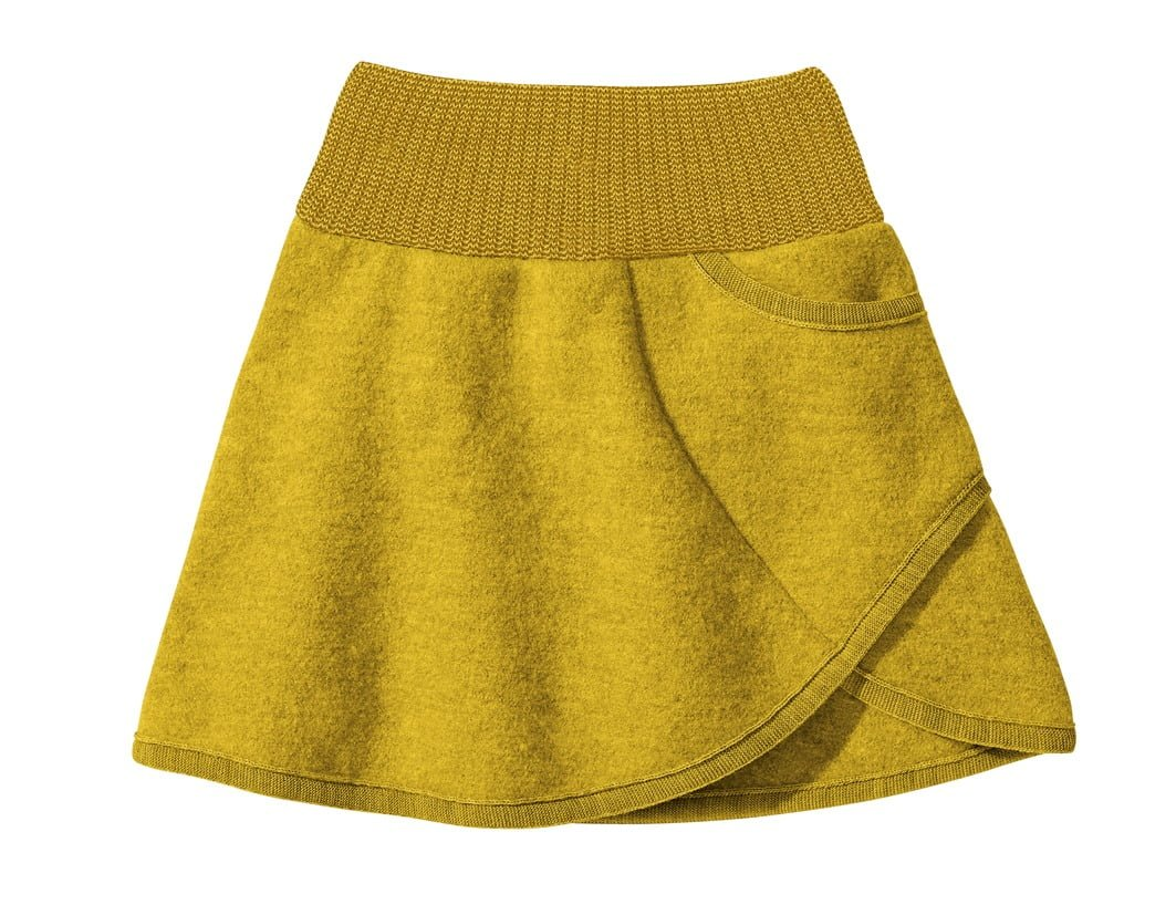 Fusta Disana din lana merinos boiled wool Curry